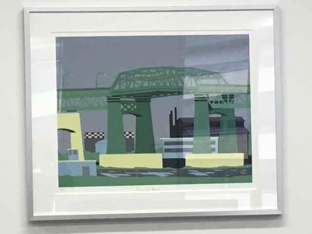 Kosciuko Bridge by  Allan Simpson - Masterpiece Online