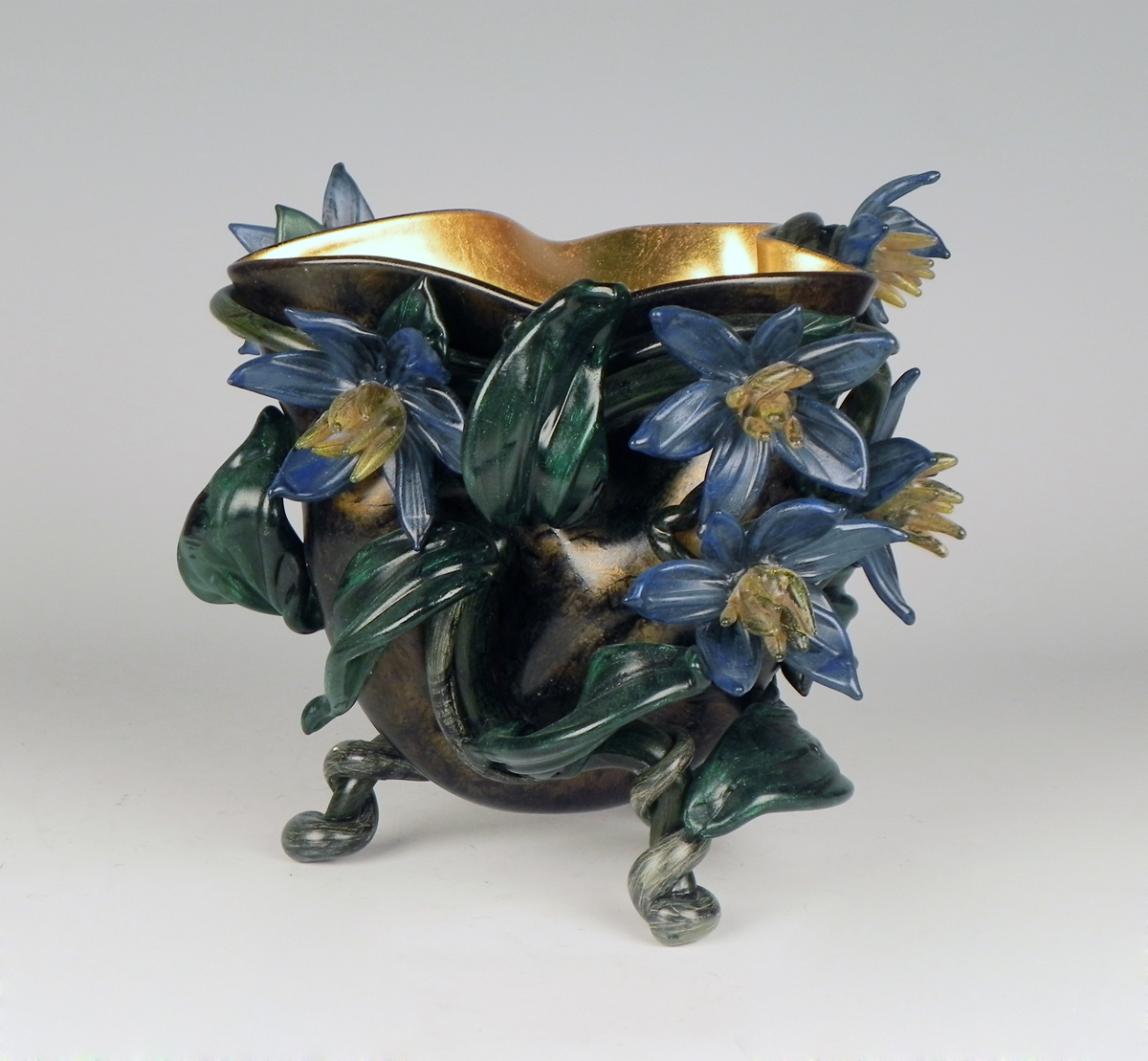 Flowering Vine Vessel... by  Susan Rankin - Masterpiece Online