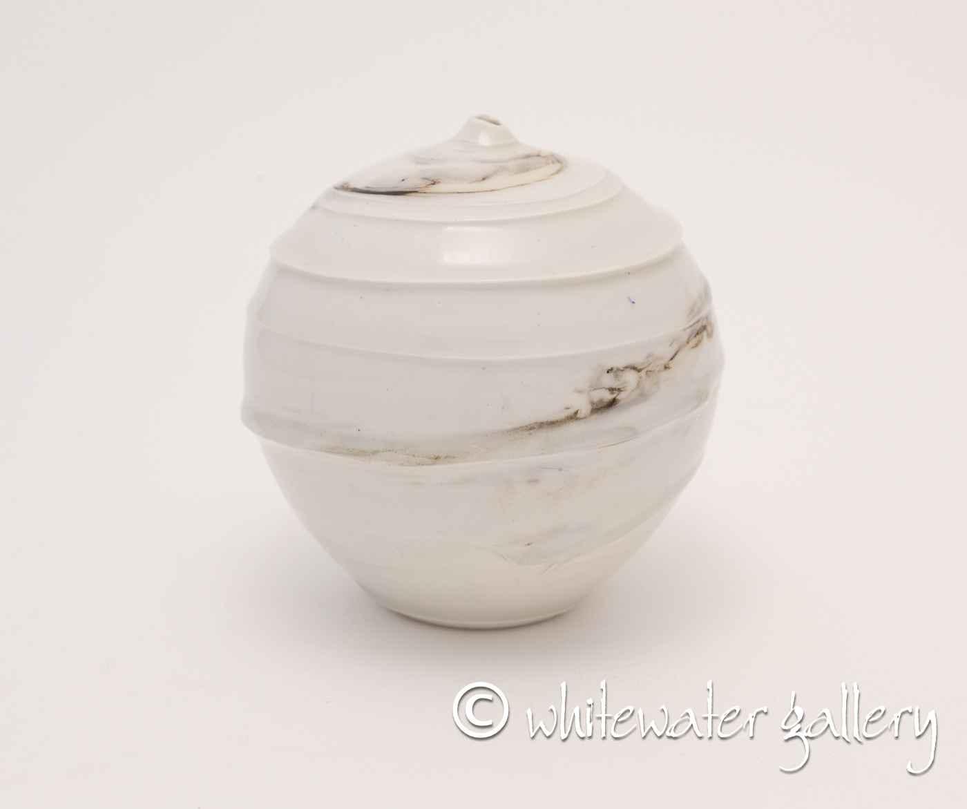 Round Bottle Vase wit... by  Hugh West - Masterpiece Online