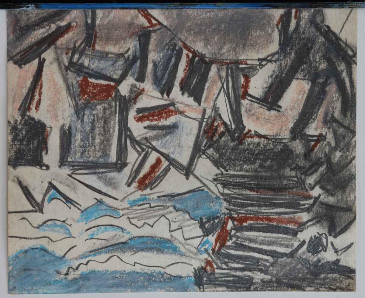 Original Vytlacil Dra... by  Vaclav Vytlacil - Masterpiece Online