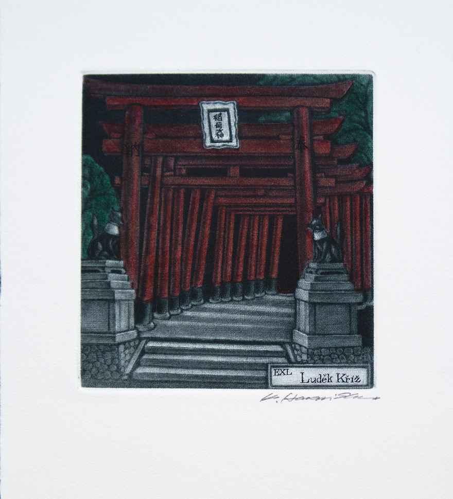 Fushimi Shrine by  Katsunori Hamanishi - Masterpiece Online