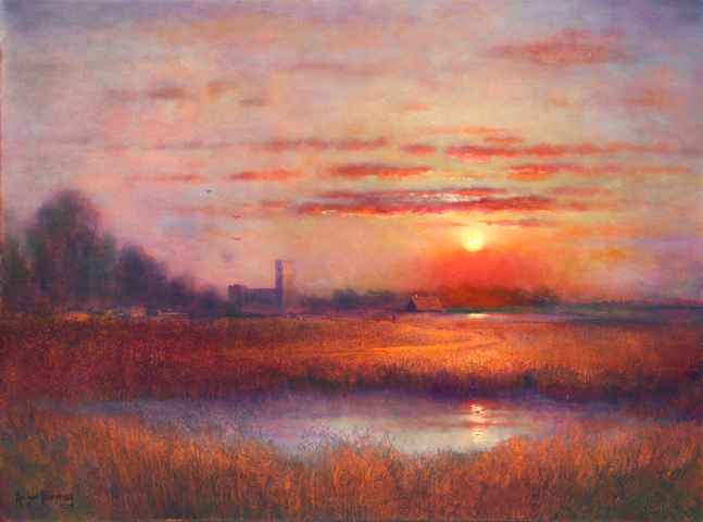 Fields of Colchester by  Roger  Budney - Masterpiece Online