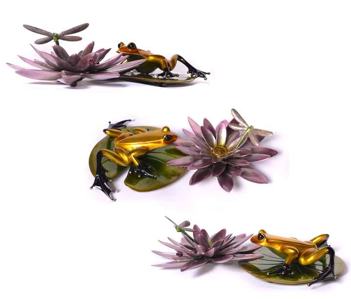 Water Lotus by  Tim Cotterill, The Frogman - Masterpiece Online