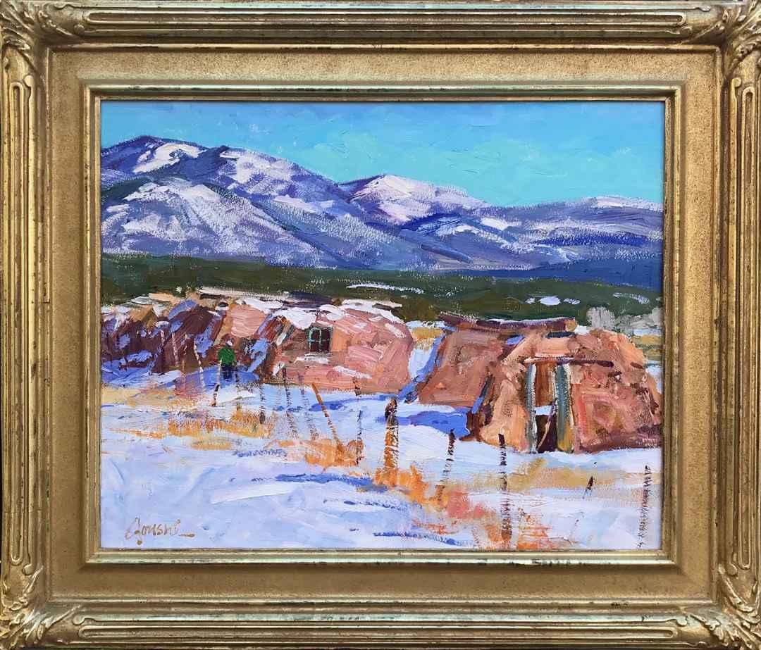 Picuris Pueblo In Win... by Mr. Walt Gonske - Masterpiece Online