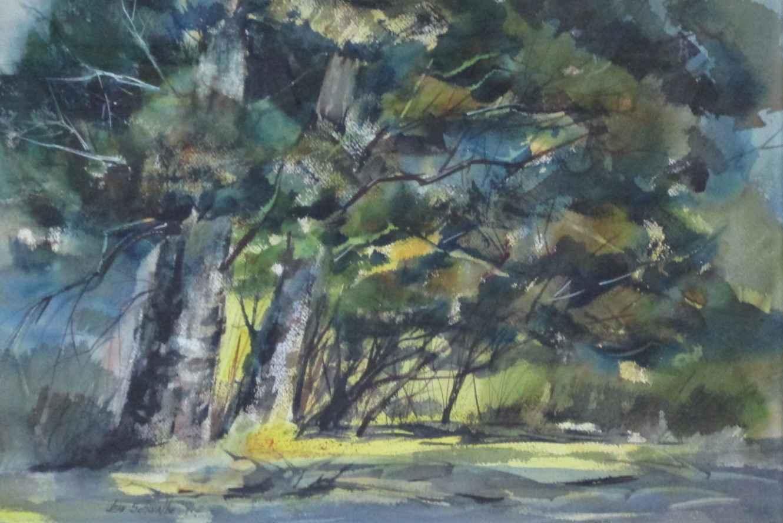 Unknown (Tree Landsca... by  Jean Schwalbe - Masterpiece Online