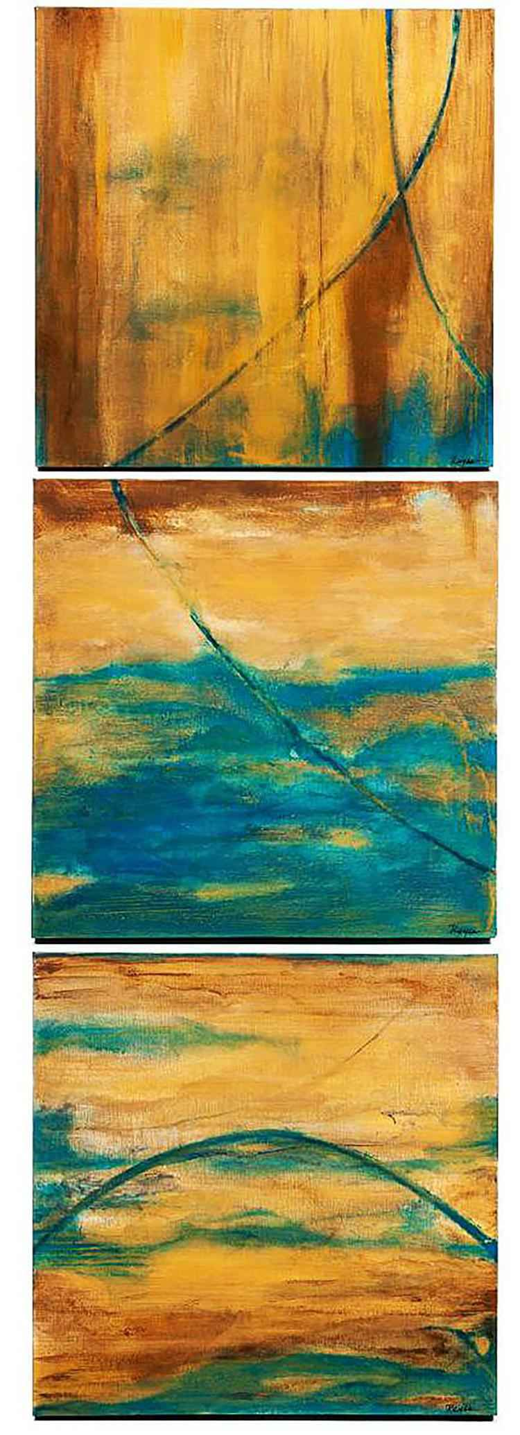 Triptych Series by  Fernando Reyes - Masterpiece Online