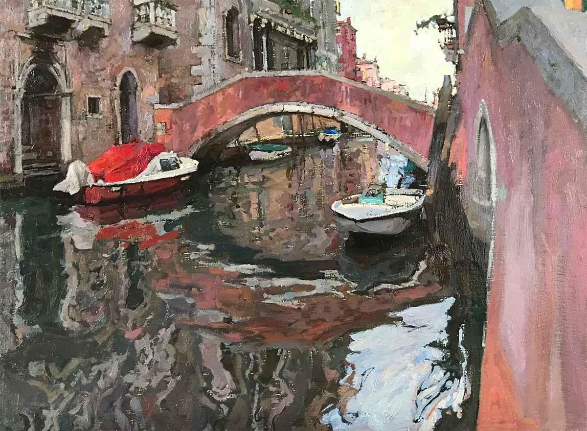 Morning in Cannaregio by  Daud Akhriev - Masterpiece Online