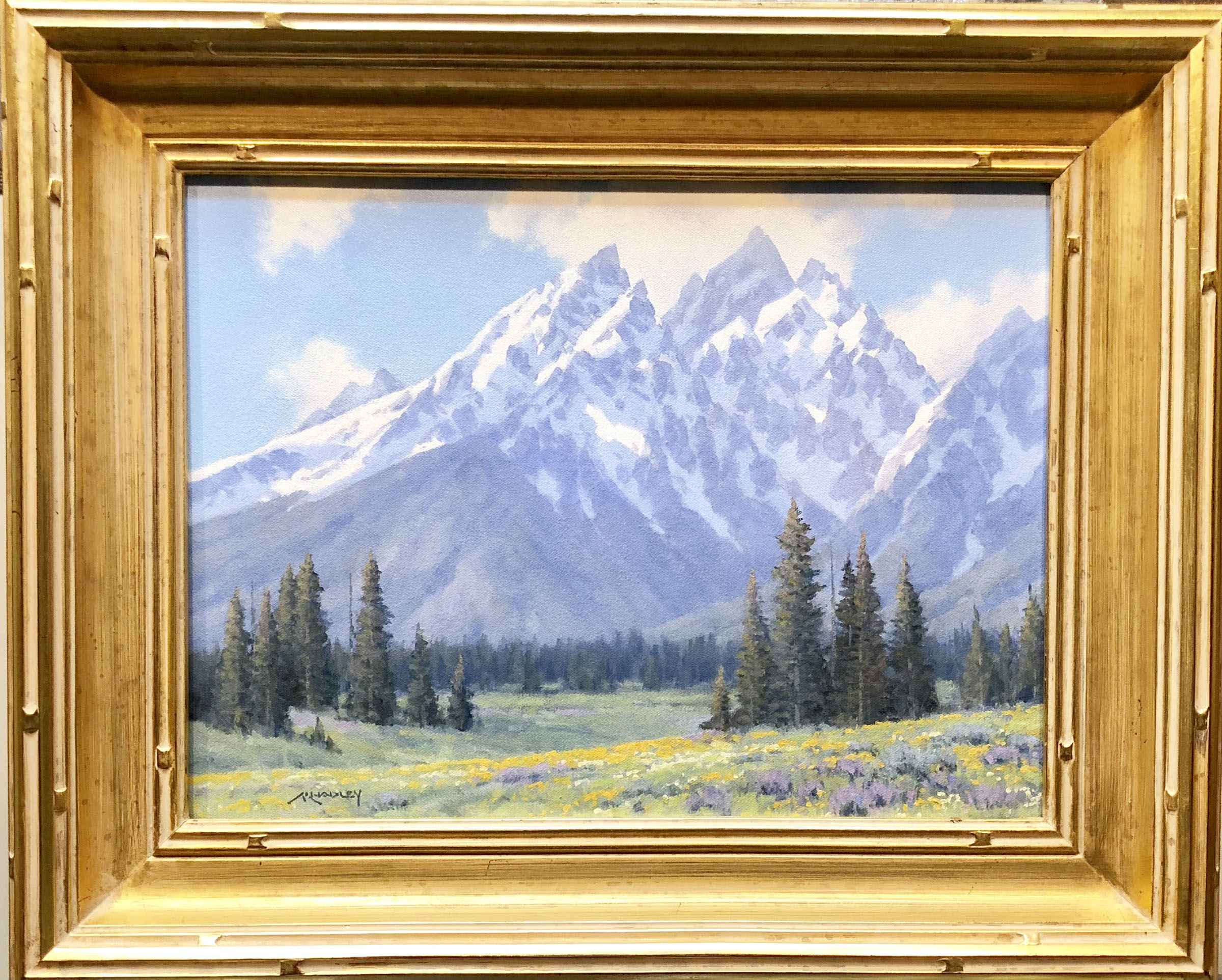 Spring Snow by  Michael Hadley - Masterpiece Online