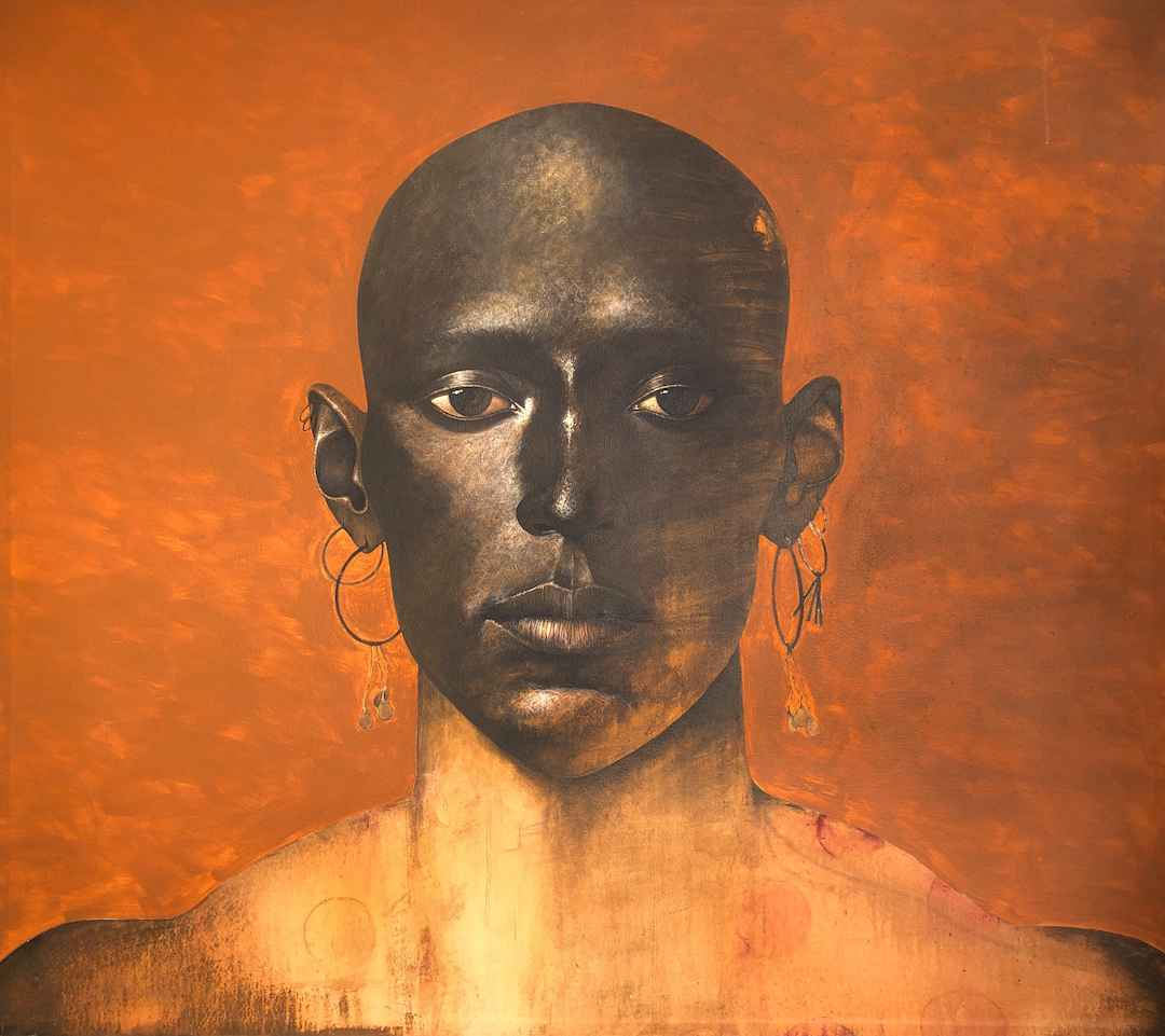 Buffalo Man by  Ben Wright - Masterpiece Online