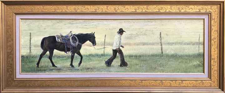Walkin' the Line by  Gordon Snidow - Masterpiece Online