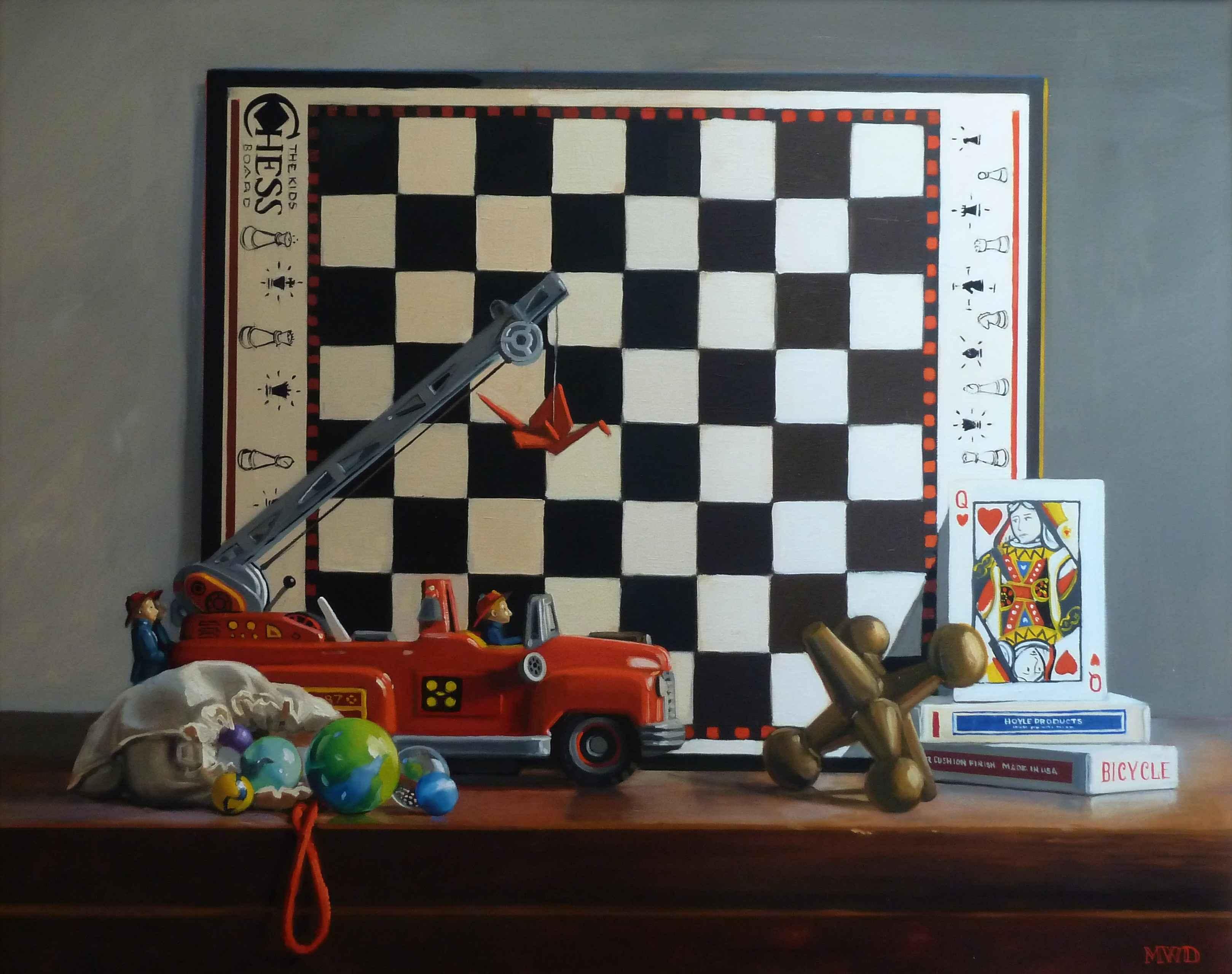 King Me by  Michelle Waldele - Masterpiece Online
