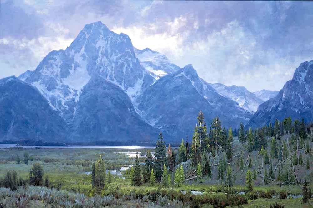 Glacier Borne by  Jim Wilcox - Masterpiece Online