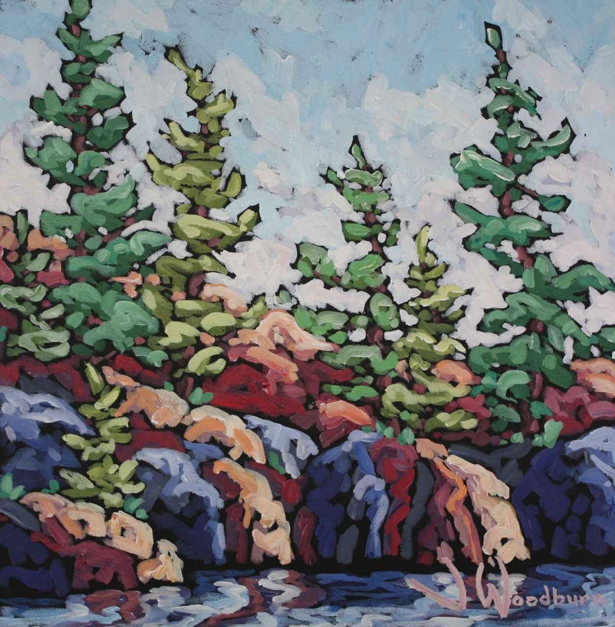 Across The Ridge by Ms Jennifer Woodburn - Masterpiece Online