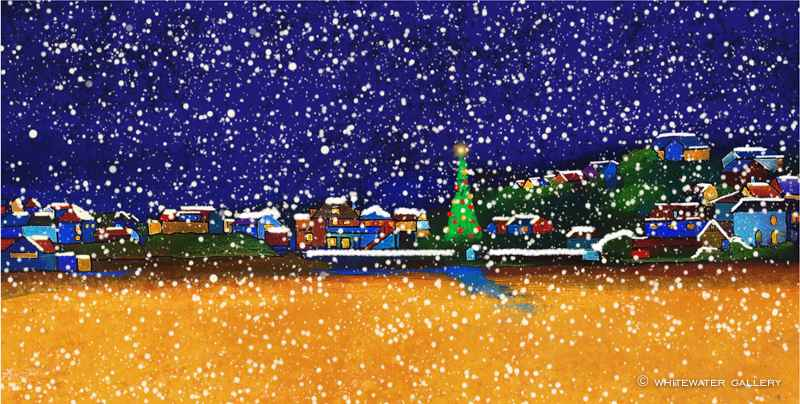 Polzeath Snow by  Charity Christmas Cards - Masterpiece Online