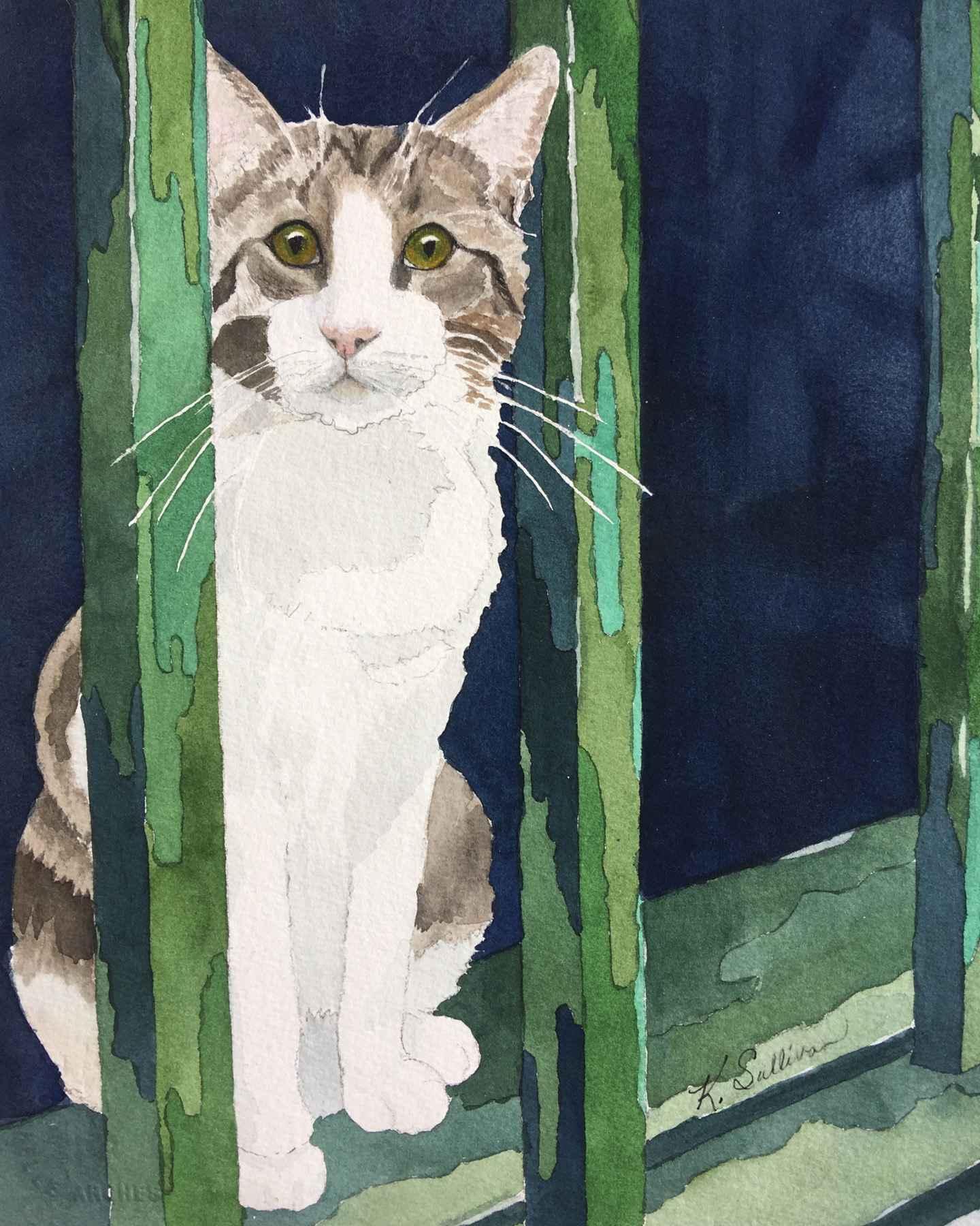 Porto Kitty by  Kay Sullivan - Masterpiece Online