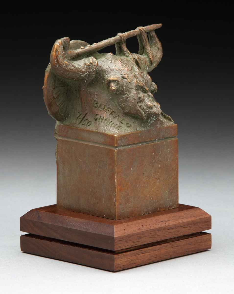 Buffalo Shrine by  Garland Weeks - Masterpiece Online