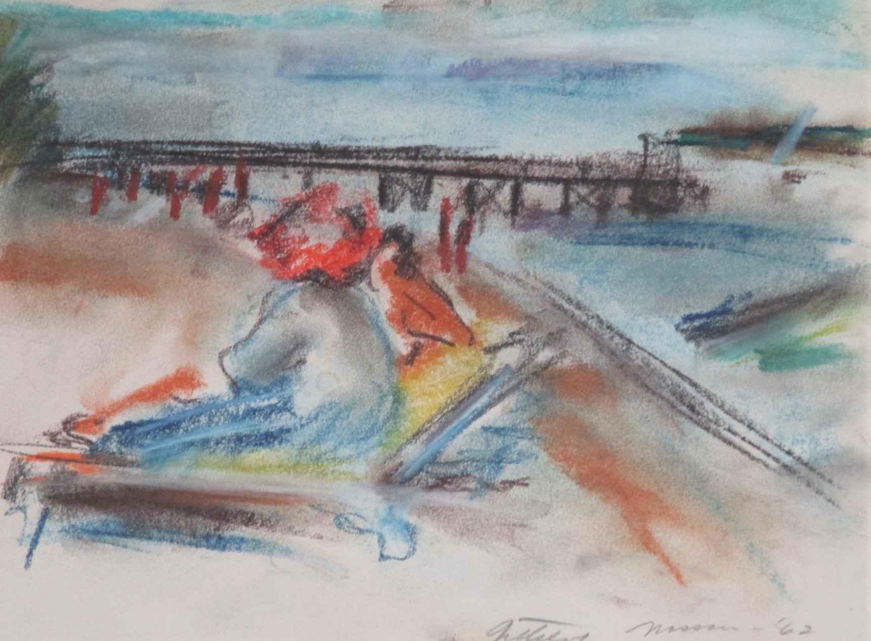 Women on beach at Nas... by  Shirley Gittelsohn - Masterpiece Online