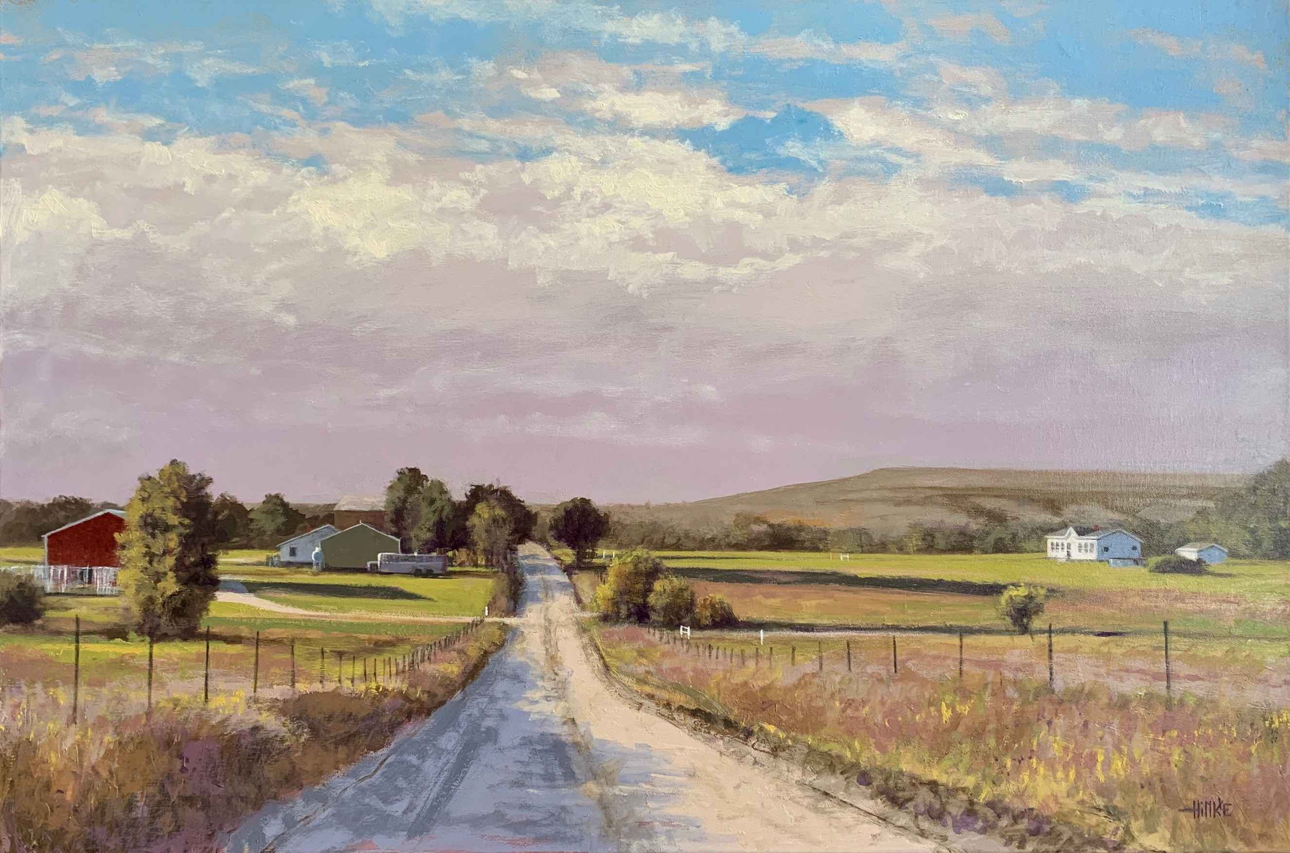 Butler Co. Rd. # 1 by  Brian Hinkle - Masterpiece Online