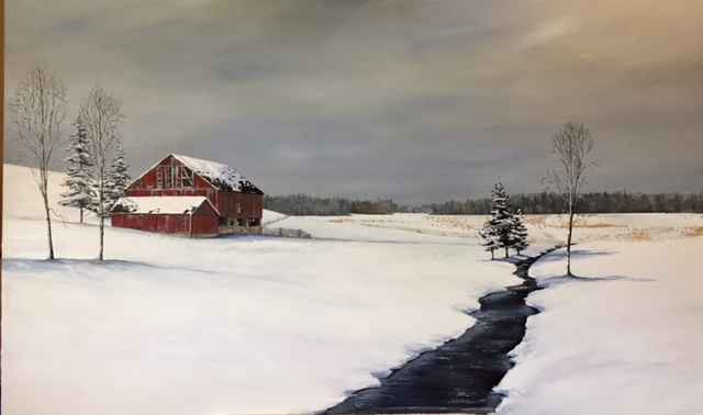 A River Runs Through ... by  Janet Liesemer - Masterpiece Online