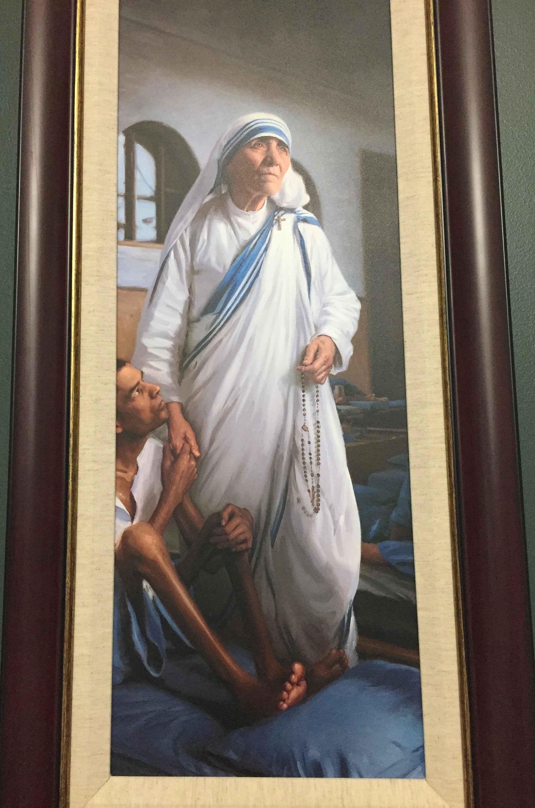 Mother Teresa by  Paul Newton - Masterpiece Online