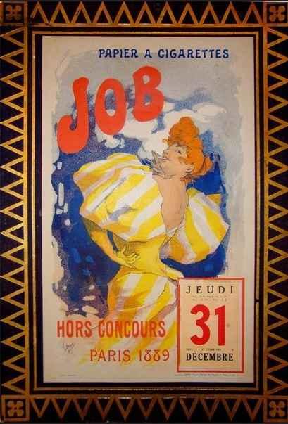 JOB Calendar by Jules... by  Jules Cheret - Masterpiece Online