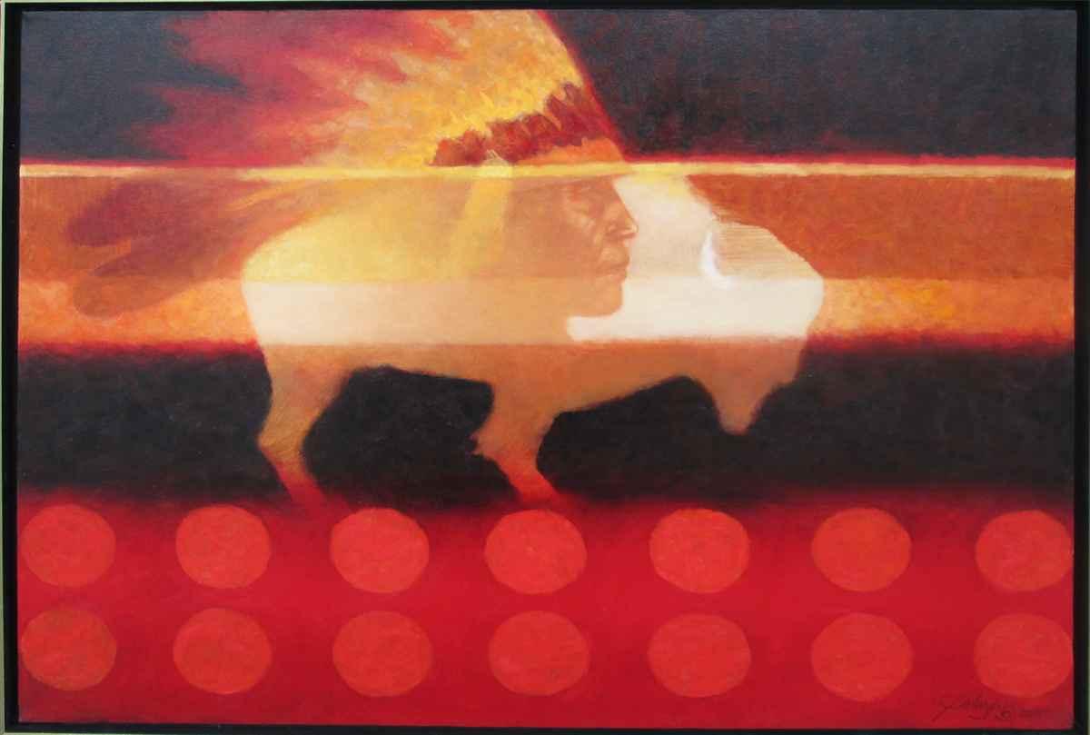 White Buffalo by  Joseph Velazquez - Masterpiece Online