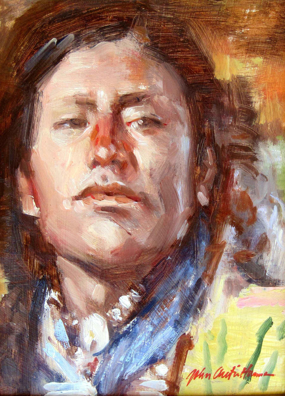 Northern Indian by  John Austin Hanna - Masterpiece Online