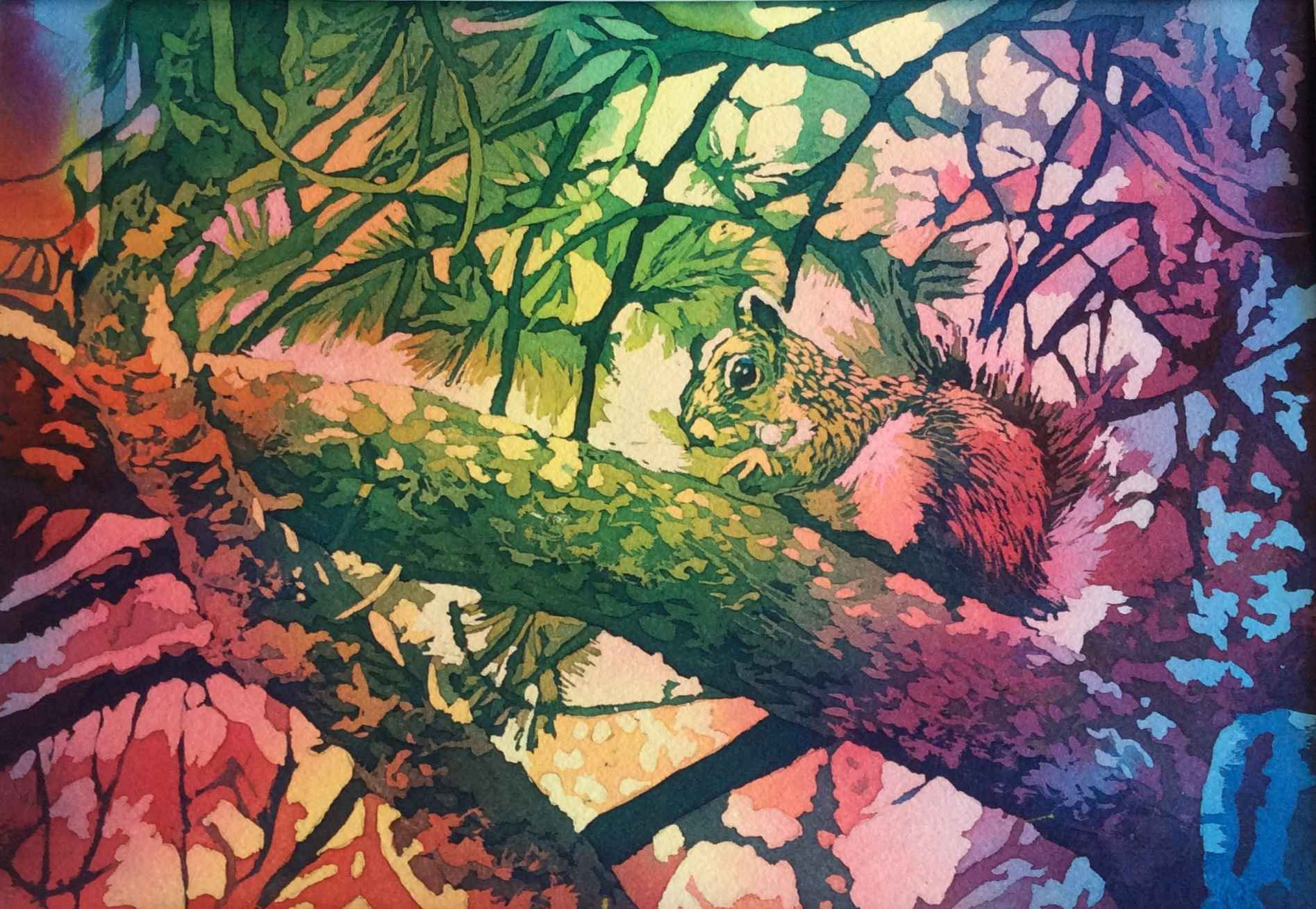 Squirrel by  Mary Bubla - Masterpiece Online