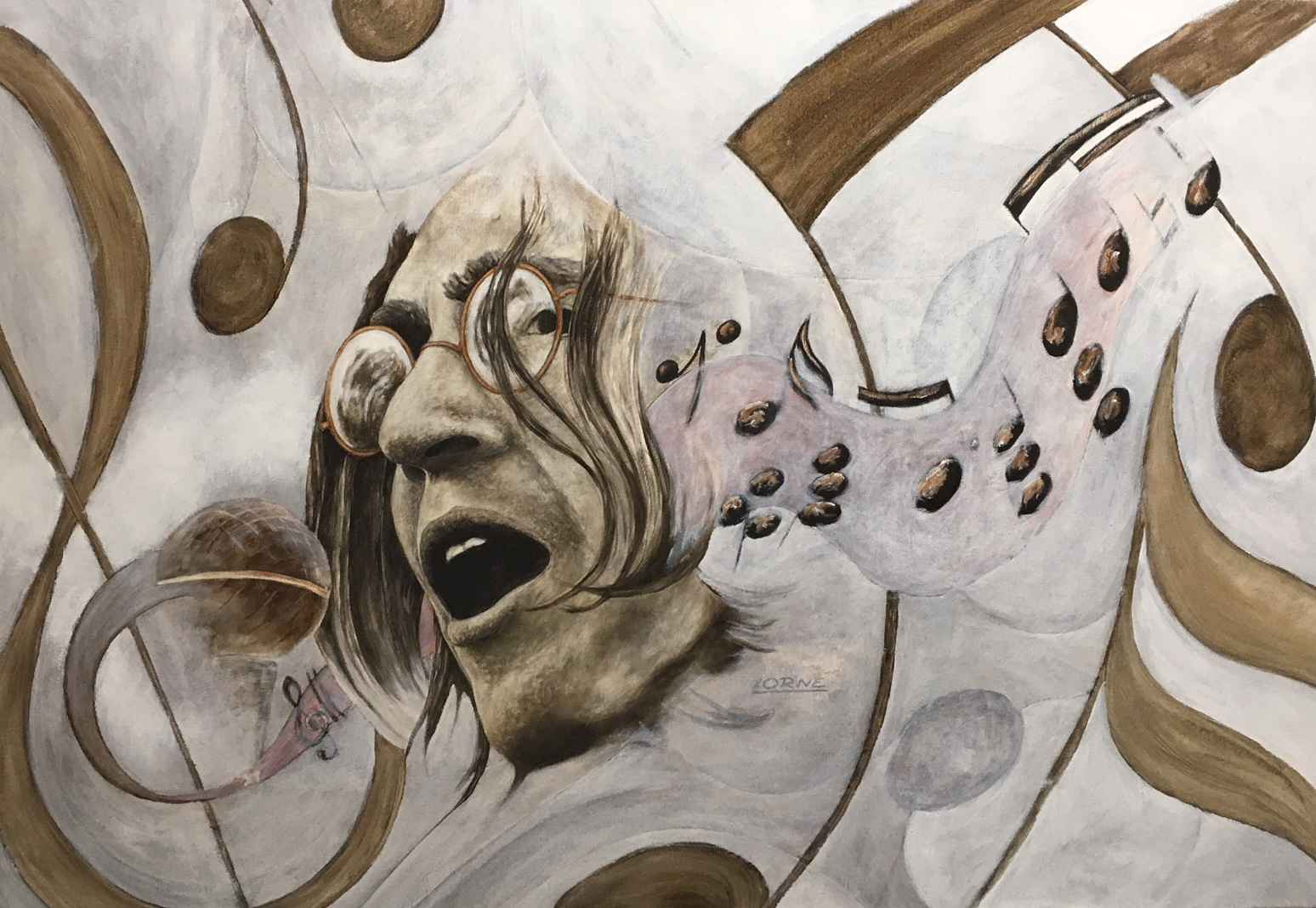 John Lennon by Mr. Lorne McDermott - Masterpiece Online