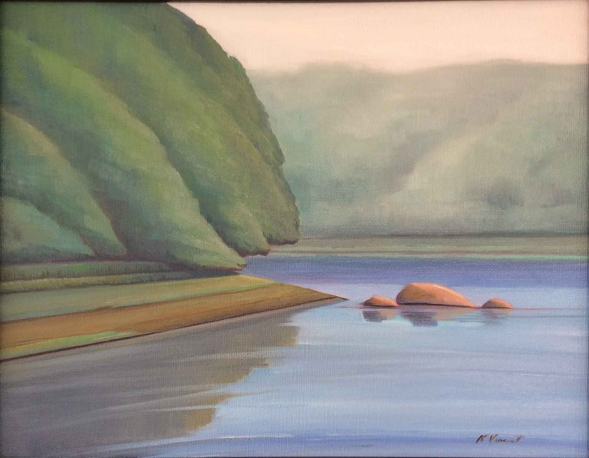 The Quiet Side by  Kenneth Vincent - Masterpiece Online