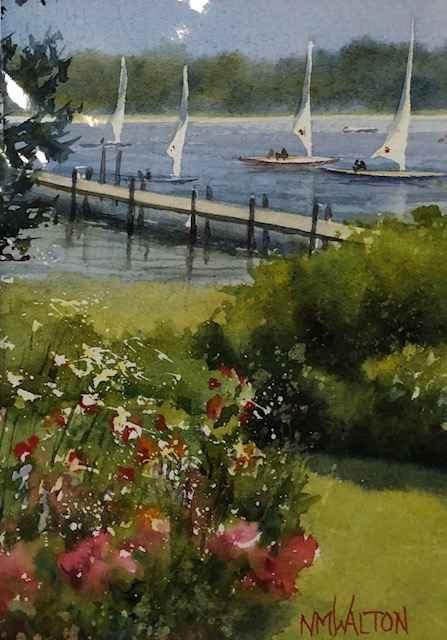 Heading In by  Nancy Motley Walton - Masterpiece Online