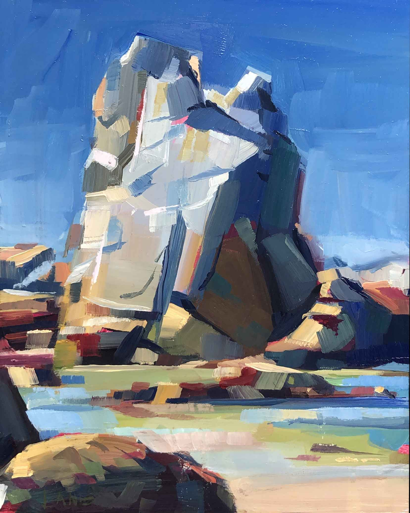Castle Rock, Midday by Mr. Lane Bennion - Masterpiece Online