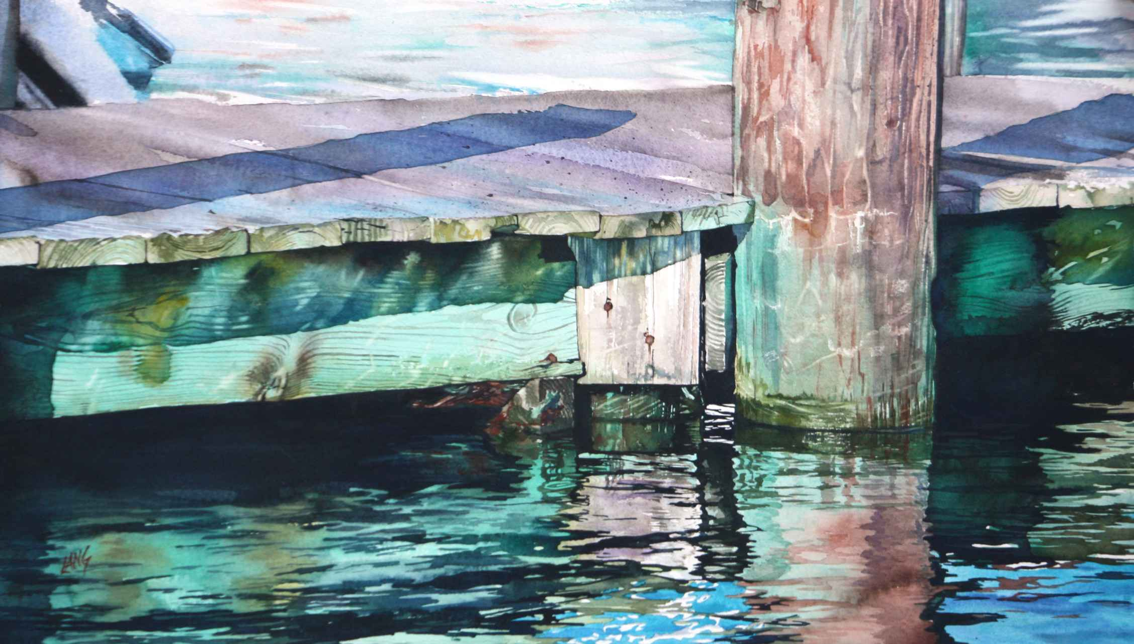 Sparkling Water by  Heidi Lang - Masterpiece Online