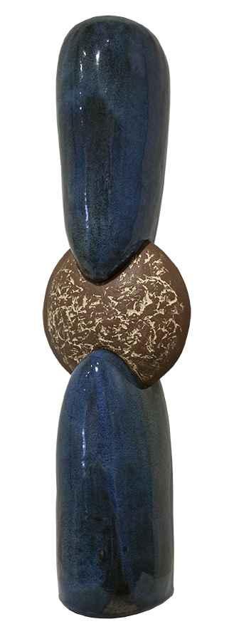Metallic Blue Triad by  Jarrett West - Masterpiece Online