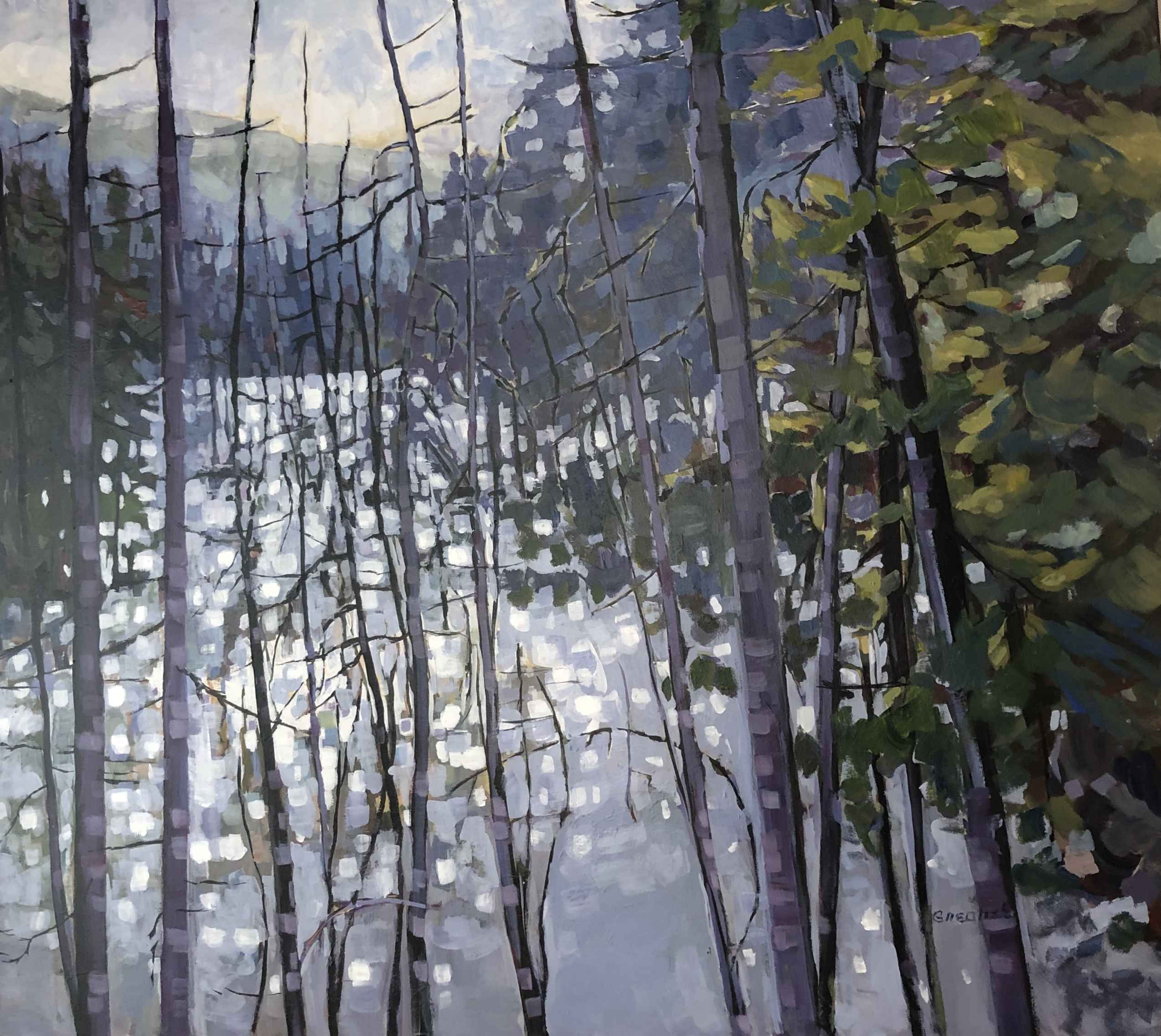The Pond by  Lynda Grealish - Masterpiece Online