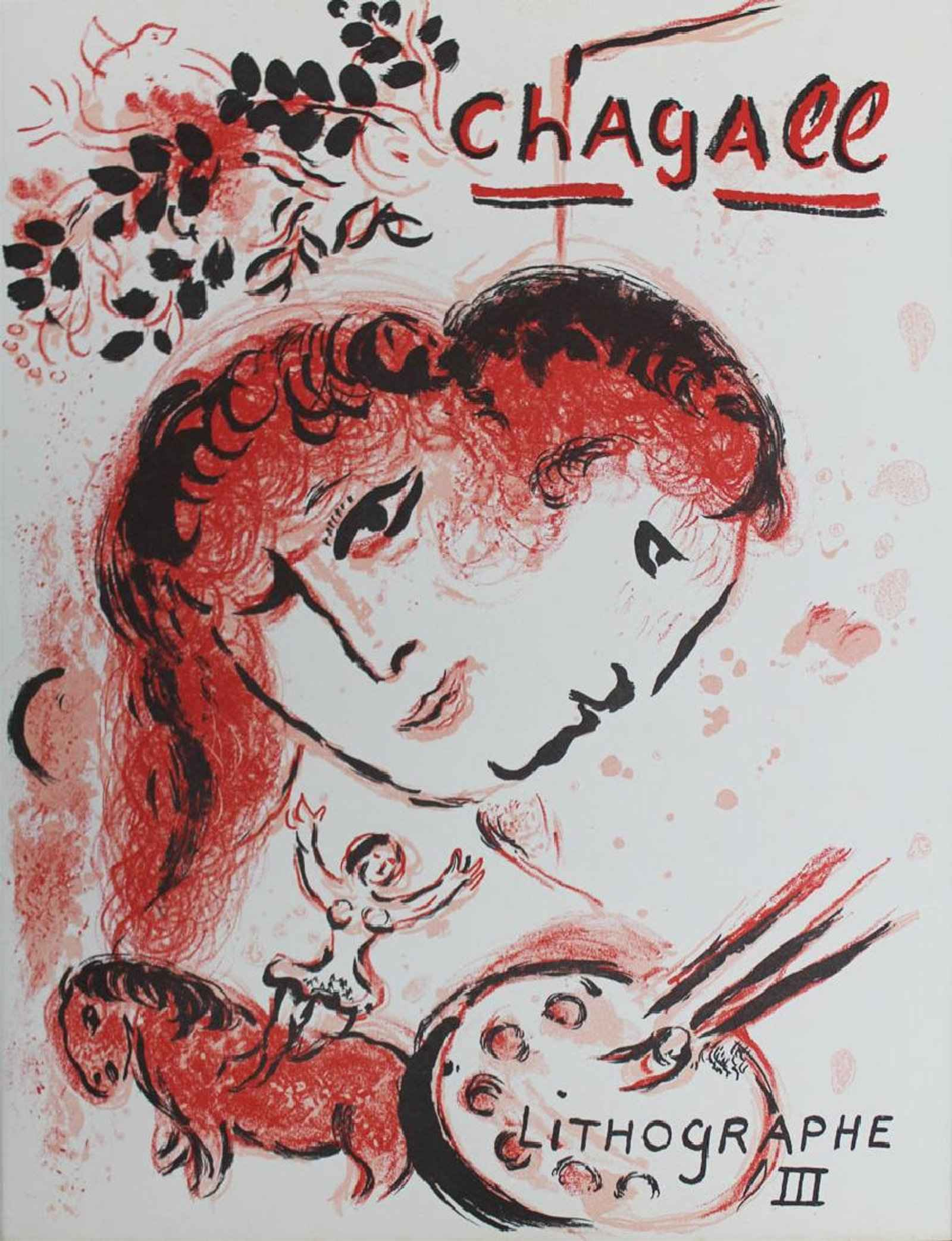Lithographe III by  Marc Chagall - Masterpiece Online
