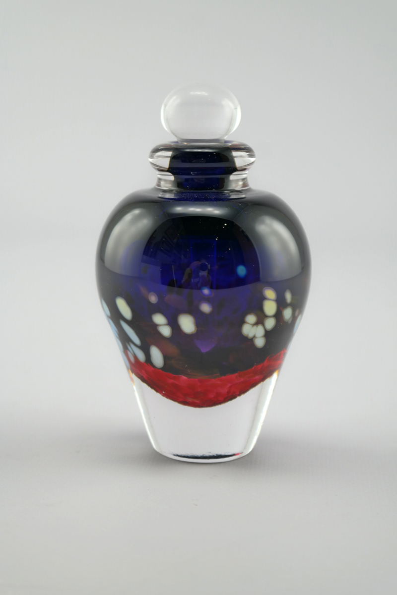 Perfume/Round Purple by  Laurie Thal - Masterpiece Online