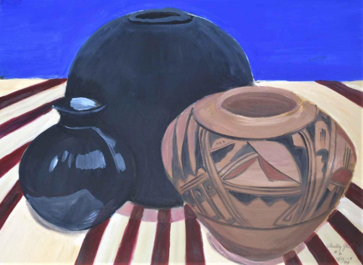 Untitled ( 3 pots) by  Shirley Gittelsohn - Masterpiece Online