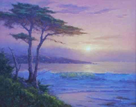 Evenings Golden Light by  Sally  Jordan - Masterpiece Online