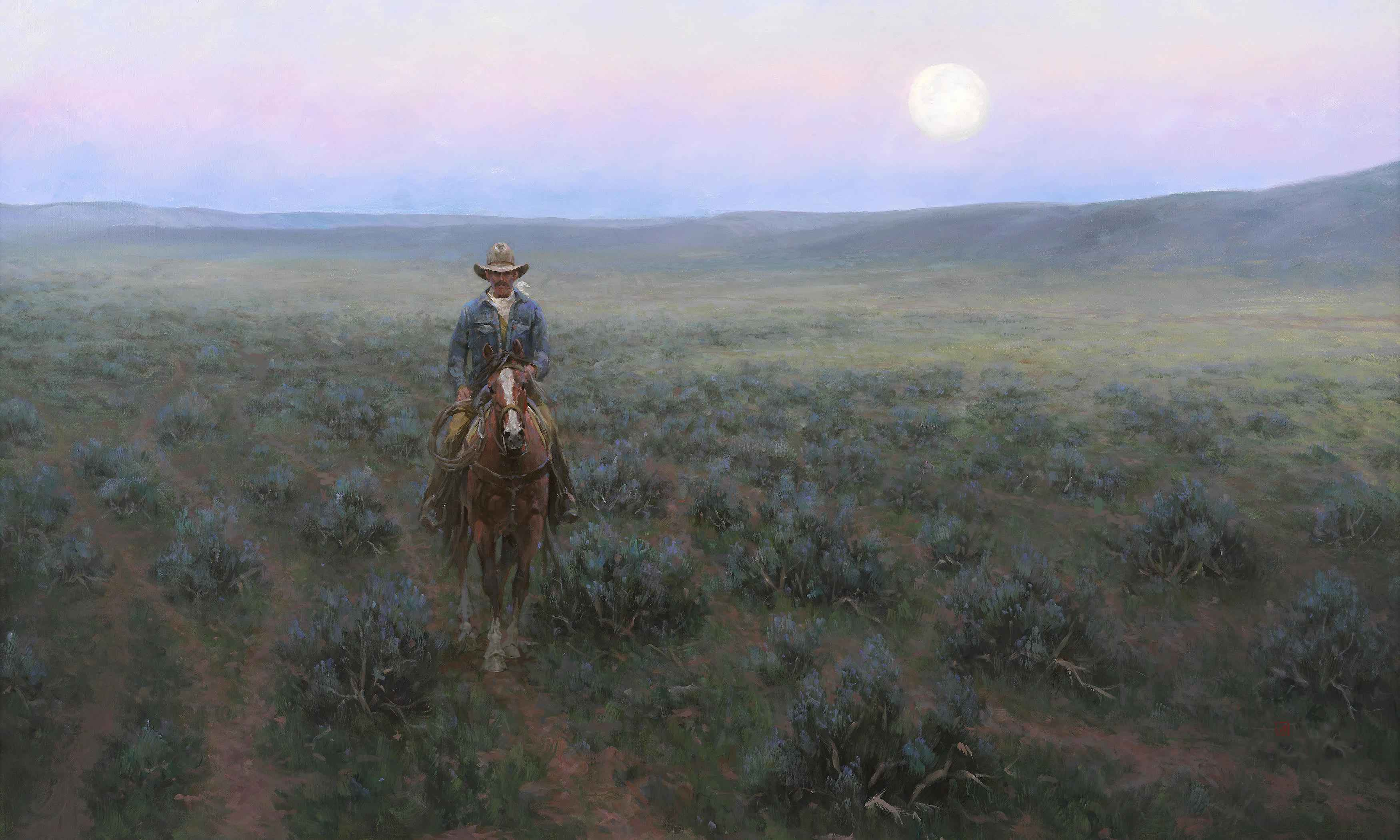 Drover Moon by  Jim Rey - Masterpiece Online