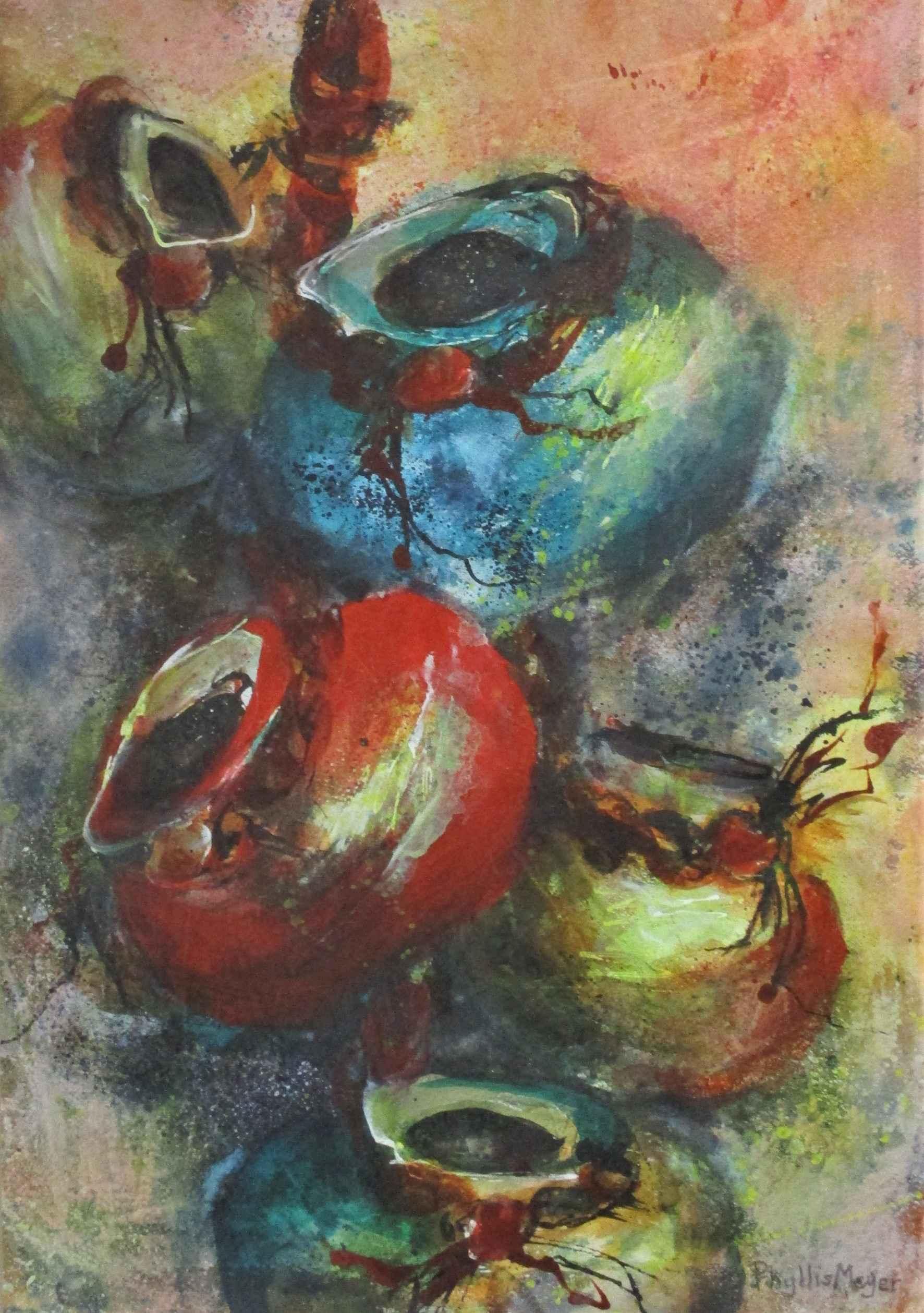 Unknown (pots) by  Phyllis Meyer - Masterpiece Online