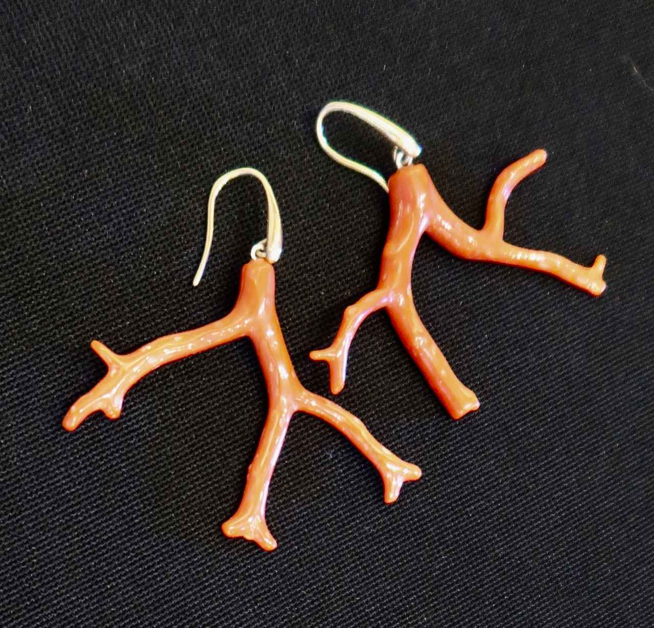 Red Branch Coral Earr... by Mrs. Rebecca Mach - Masterpiece Online