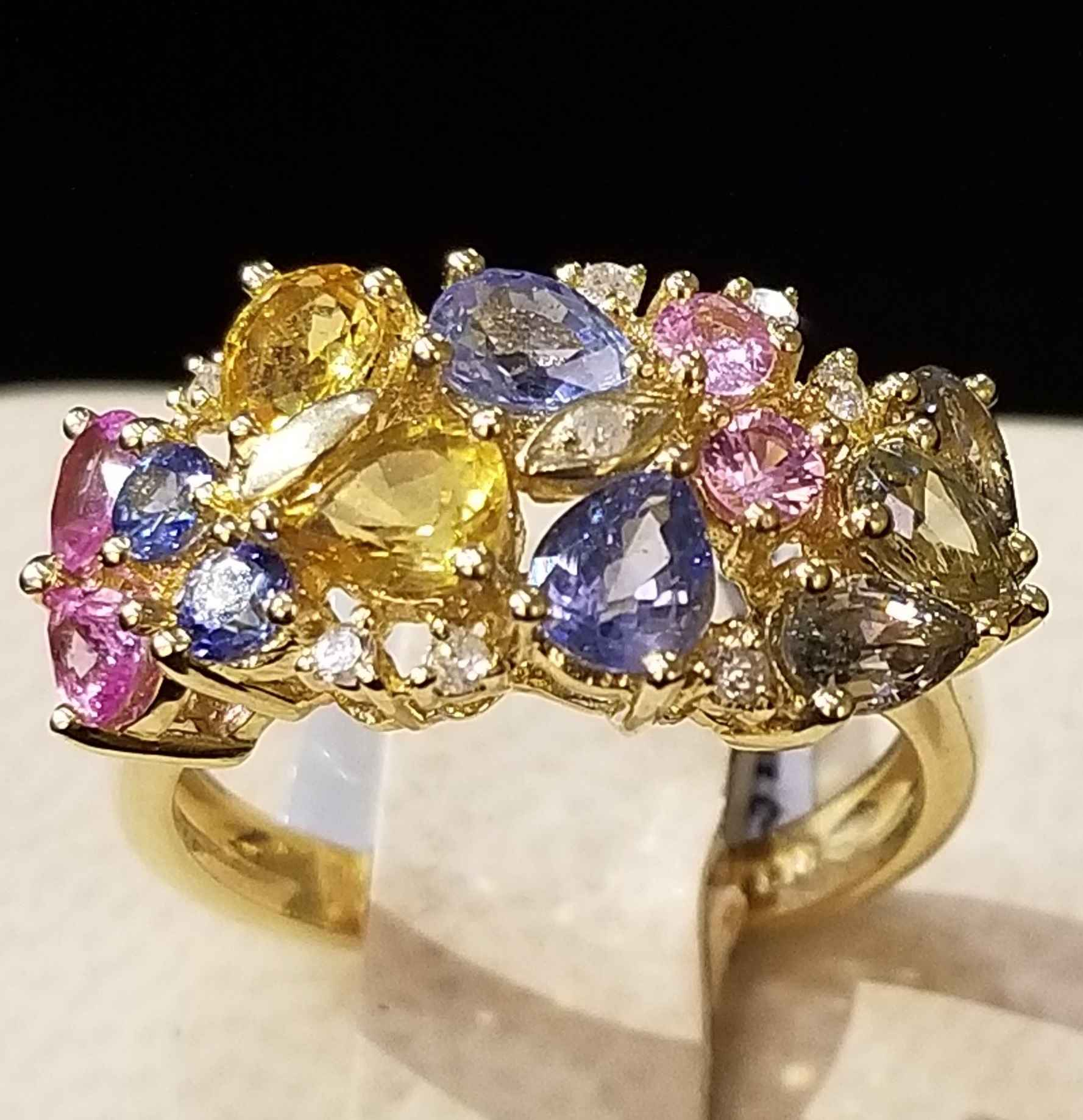 Multi Gemstone Ring -... by  My Jeweler - Masterpiece Online