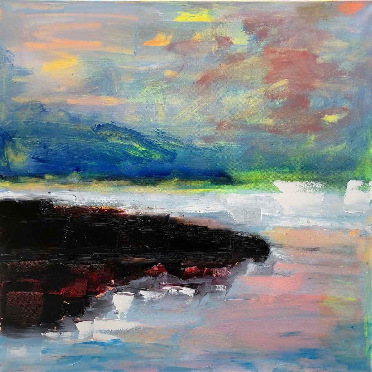Plum Point (Fall) by  Amiel Weisfogel - Masterpiece Online