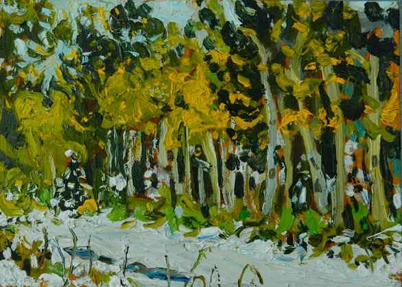 Summer Snow, Canmore by Mr. Dennis Brown - Masterpiece Online