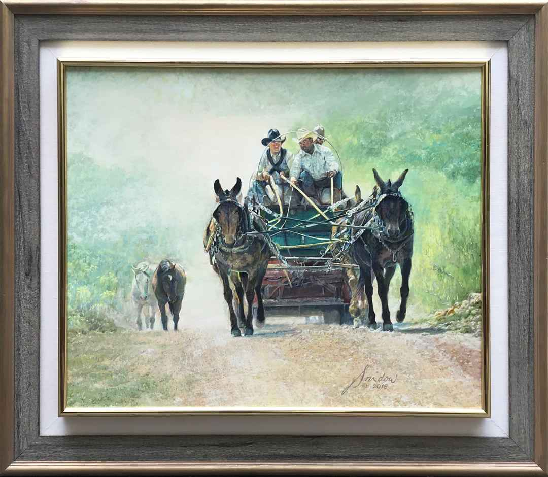 The Bed Wagon by  Gordon Snidow - Masterpiece Online
