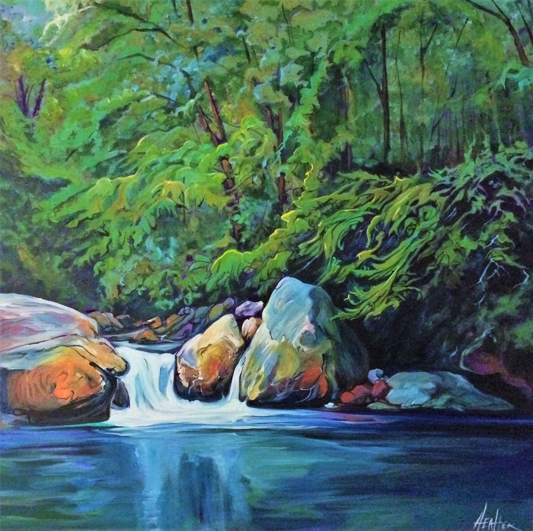 Summer in Sooke by  Heather Pant - Masterpiece Online