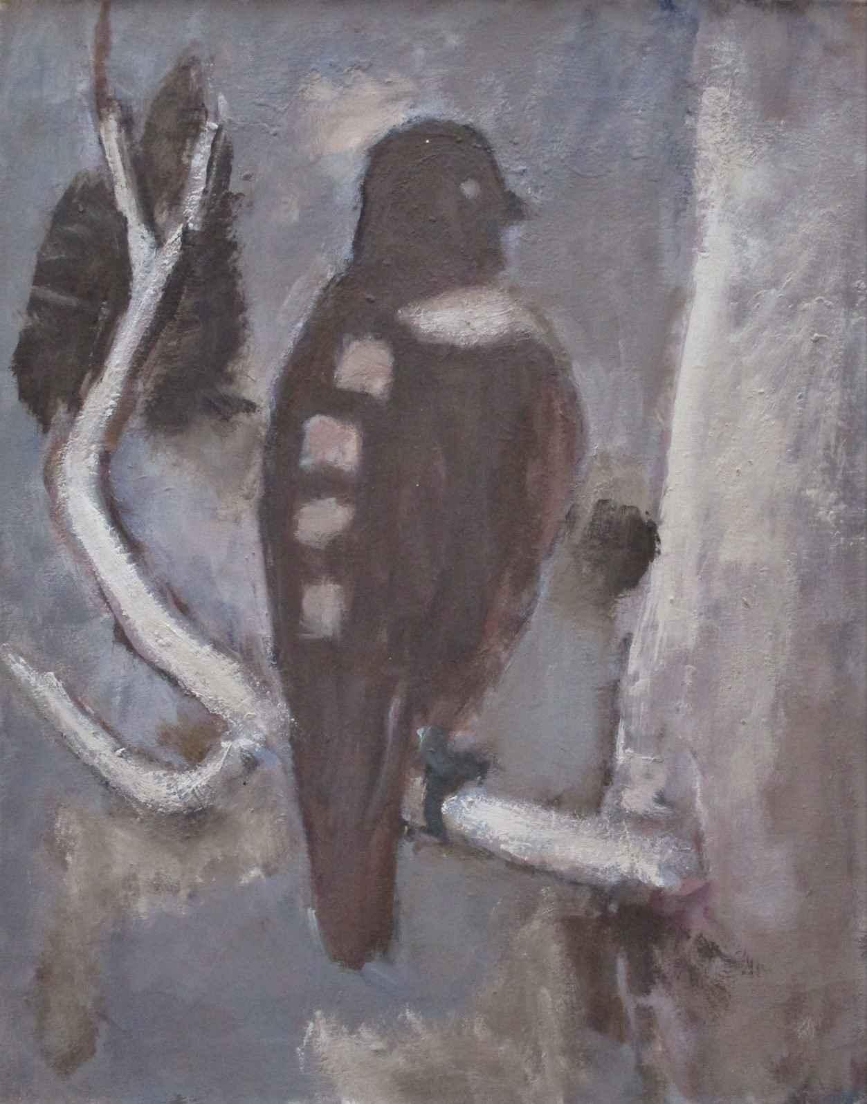 Untitled  (Bird on a ... by  Arthur Runquist - Masterpiece Online