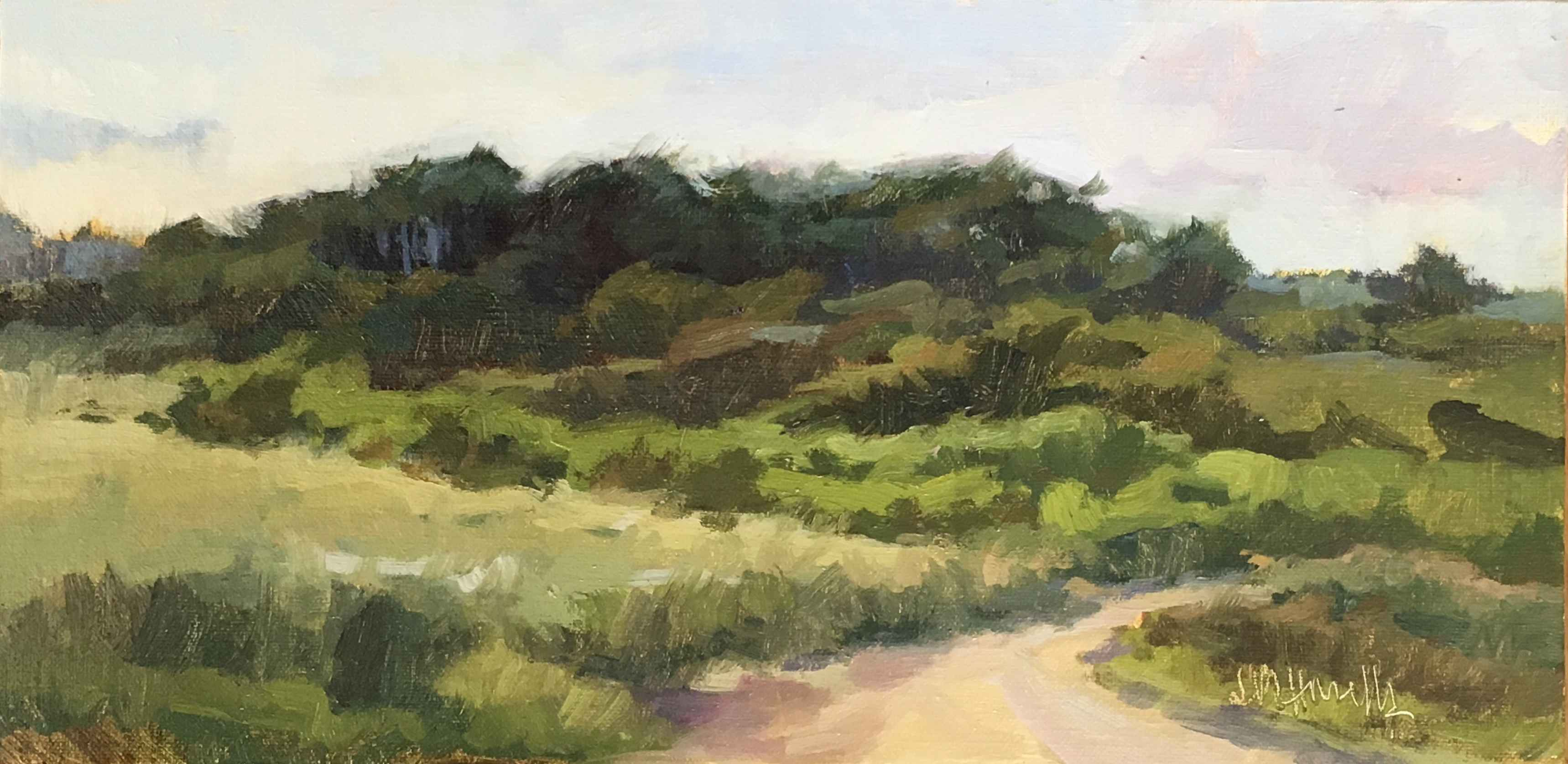 July Afternoon, Wasque by  Judith Howells - Masterpiece Online
