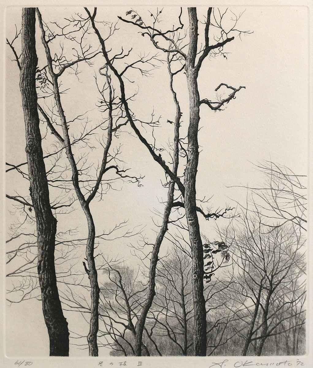 Winter Trees III by  Shogo Okamoto - Masterpiece Online